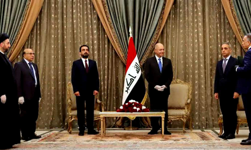 Iraq's new prime minister is Mustafa Al-Kadhimi