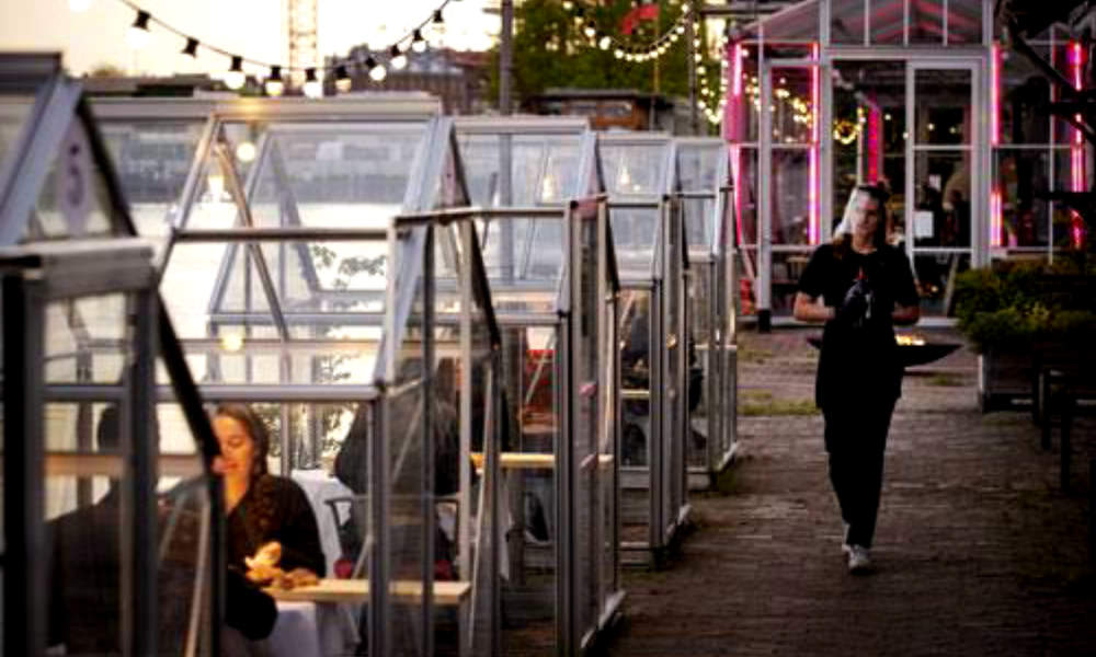 Restaurant Introduced Alternative Solutions in Amsterdam