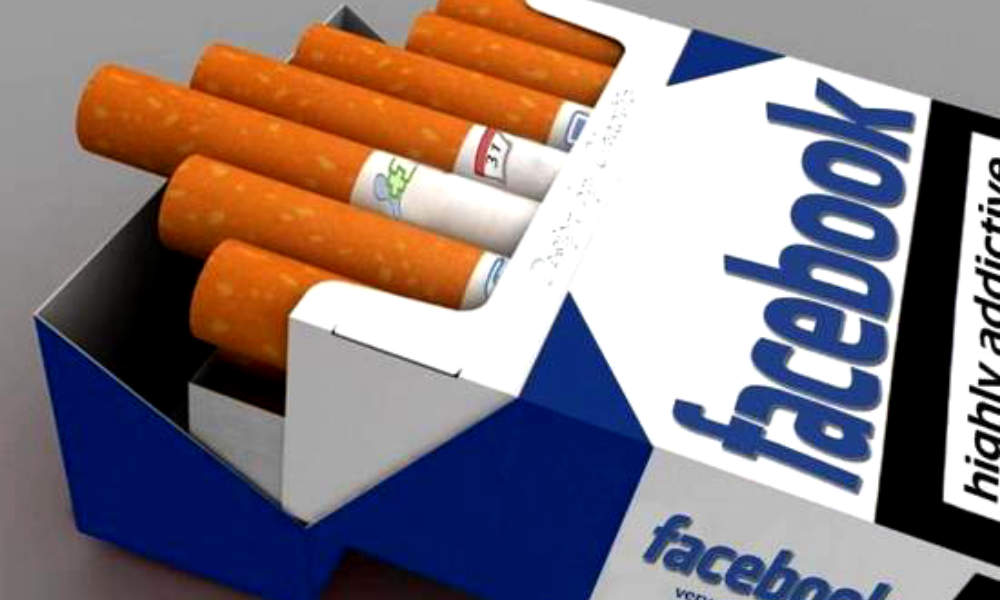 Facebook is like smoking cigarettes